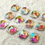 11*14mm Crystal Ab DIY Sew on Cosmic Crystal Rhinestone (SW-Cosmic 11*14mm)