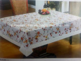 Printed PVC Table Cloth with Flannel Backing