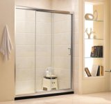 Bathroom Hardware Sliding Clear Tempered Glass Shower Door (G11)