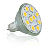 Truck Light Gu4 MR11 6 5050 SMD LED Lamp with Cover