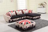 U. K. Modern Sectional Fabric Sofa Set