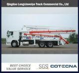 Sinotruk HOWO 6X4 4 Booms Concrete Pump Truck