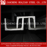 Hot Rolled U Channel Steel Bars for Architecture Bracket