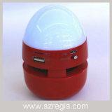 Egg-Like LED Colorful Lights Wireless Bluetooth Speaker