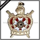 3D Building Metal Badge for Decoration (BYH-10329)