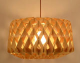 Modern Decorating Restaurant Creative Wooden Art Honeycomb Pendant Light