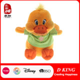 Funny Kids Stuffed Animal Toy Plush Yellow Duck in T-Shirt