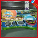 10FT Curved Printed Fabric Tension Display
