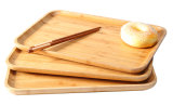 Perfect Bamboo Food Plate Fruit Tray Rectangular Plates