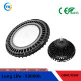 Round Special UFO 100lm/W UFO/Round 150W/200W MW Driver LED High Bay Light Architectural Lighting