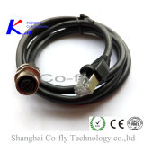 M12 4pin Female Rear / Front Mount Cable Accessories with Male RJ45