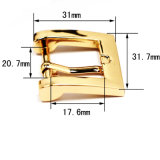 Hot Sale Metal Zinc Alloy Harness Buckle Pin Belt Buckle for Garment Shoes Handbags (Yk1150)