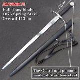 Handmade Medieval Swords with Scabbard 113cm Jot089cu