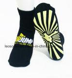 Custom Colorful Polyester Trampoline PVC Grip Jump Socks Trampoline Park Socks