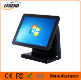 "China Manufacturer 15"" Black POS System with Capacitive Touch Screen"