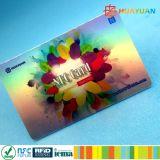 High sercurity EPC1 Global Gen2 Monza 4 UHF PVC smart RFID Card