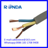 H05VV flexible electric wire cable 2X6 sqmm