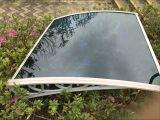 Clear Waterproof Polycarbonate Decorative Window Canopy for Veranda/Porch