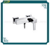 Zinc Handle Chrome Finished Bathroom Faucet