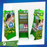 Store Cardboard Display Shelf, Advertising Paper Display Stand