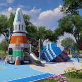 Liben New Space Theme Commercial Kids Custom Outdoor Playground Equipment