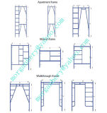 Safe SGS Passed Mason Frame Scaffolding for Decoration