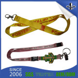 Hot Promotion Custom Printed Polyester Lanyard with Metal Hook