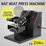 7*3.75 Digital Clamshell Baseball Hat Cap Heat Press