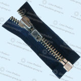 China Automatic Lock Zipper 3#, 4#, 5#, 7#, 8#, 10# - China Zipper, Metal Zipper