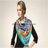 90*90cm Quality Newest Shawl Style Digital Printing Silk Scarf