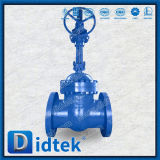 Didtek Pn100 GOST12815-80 Flange Gate Valve with Worm Gear