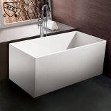 Rectangle Freestanding Acrylic Bathtub with Cupc, CE Certficate