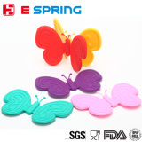 Magnet Butterfly Silicone Kitchen Cook Bake Heat Insulating Gloves Oven Mitts Pot Holder