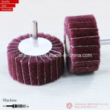 50*25*6.35mm, P60, Aluminum Oxide Flap Wheels with Shaft