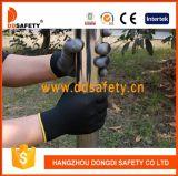Ddsafety 2017 Black PU Coated Work Glove