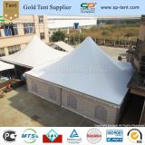12X12m Garden Gazebo Marquees Fully Close-Sided with Soft PVC Walls and Windows for Charity Fundraisers