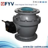 Two-Piece Fixed Ball Valve with Gear Actutor