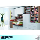 Customized Mondern Style Mixed Wooden Bookcase Furniture