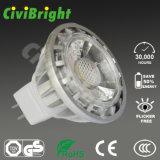 MR16 LED Lamp COB 5W Aluminum Housing LED Spotlights