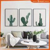 Wholesale Dropship Modern Cactus Handpainted Decorative Oil Painting on Canvas