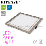 Electroplated Aluminum 16W Grey LED Panel Light