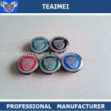 Colorful Aluminum Alloy 60mm Jaguar Car Wheel Center Caps