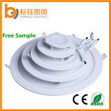 3W-24W Super Thin Round Flush-Mounted LED Panel Lighting (2700-6500K, CE RoHS FCC, 3 years warranty)