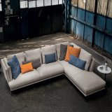 Modern New Style Living Room Fabric Sofa Set (F1112)