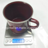Cookware Tin Cup Set in Red Tea Cup Coffee Mug