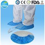 Plastic Blue CPE PP+PE Shoe Cover Nonwoven Shoe Cover