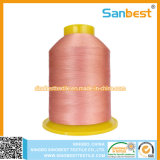 100% Trilobal Polyester Embroidery Thread High Strength Even Lubrication
