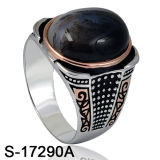 Fashion Jewelry 925 Silver Ring with Agate