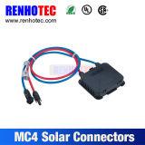 Mc4 Solar PV Connector Splitter Panel Mount