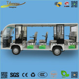 Theme Park Electric Sightseeing Bus 14 Seats Passenger Car